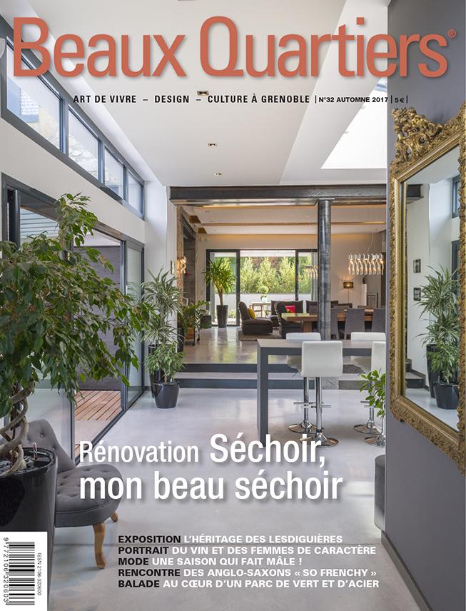 Beaux quartiers le magazine de l 39 art de vivre grenoble for Architecture a vivre magazine