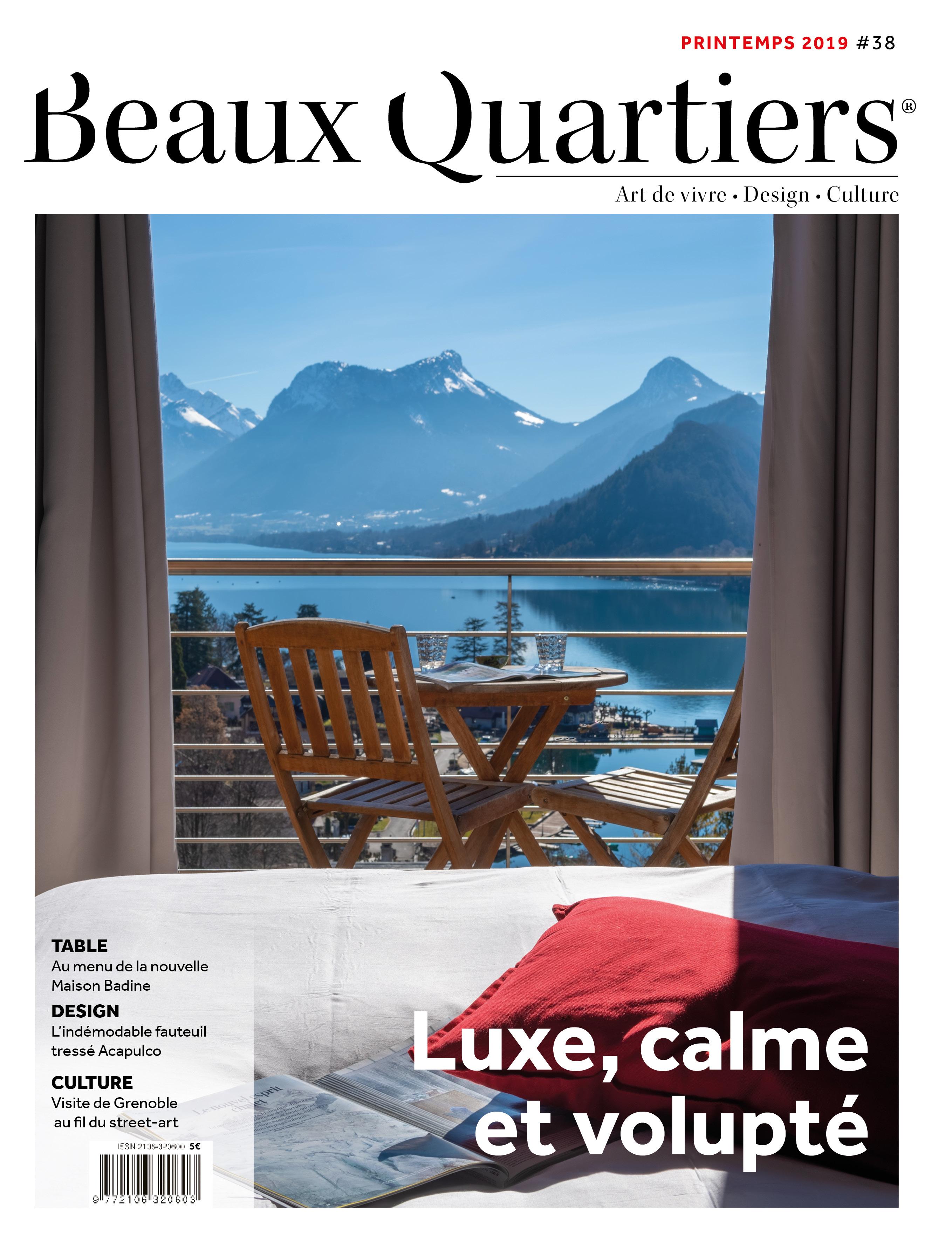 Beaux Quartiers 38 – Printemps 2019