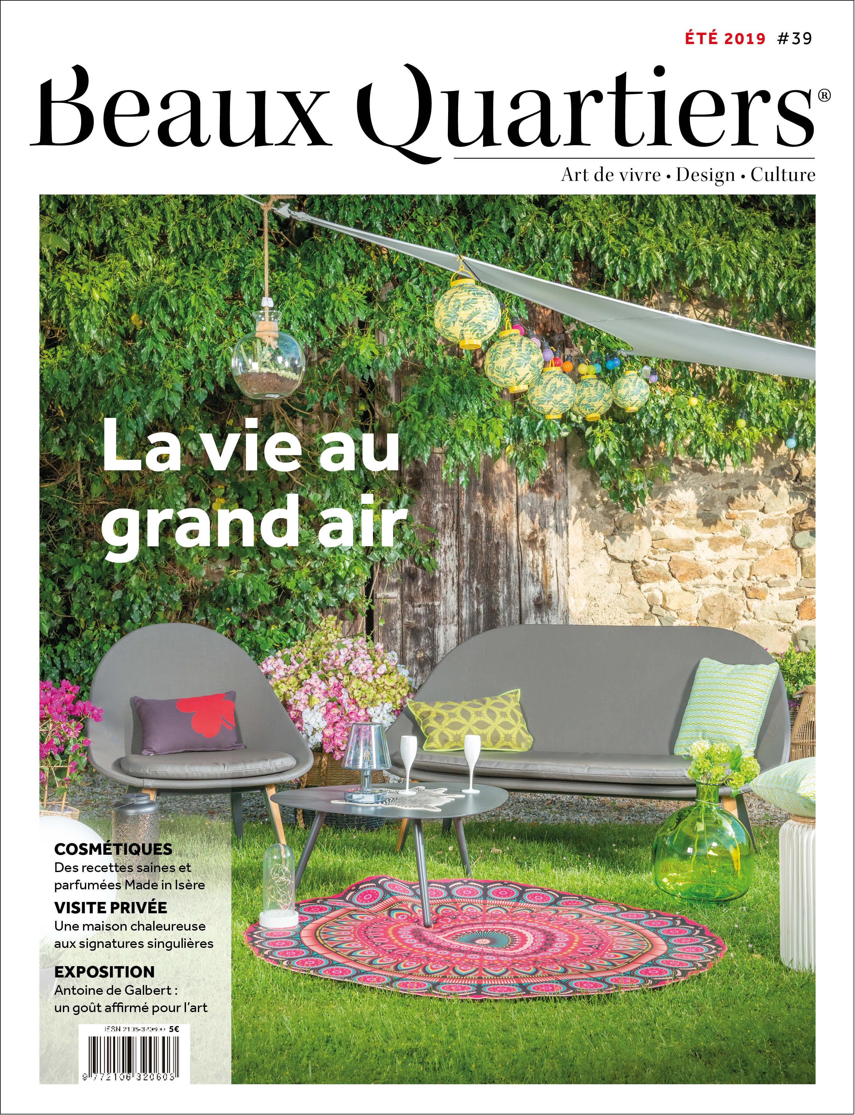 Beaux Quartiers 39 – Été 2019