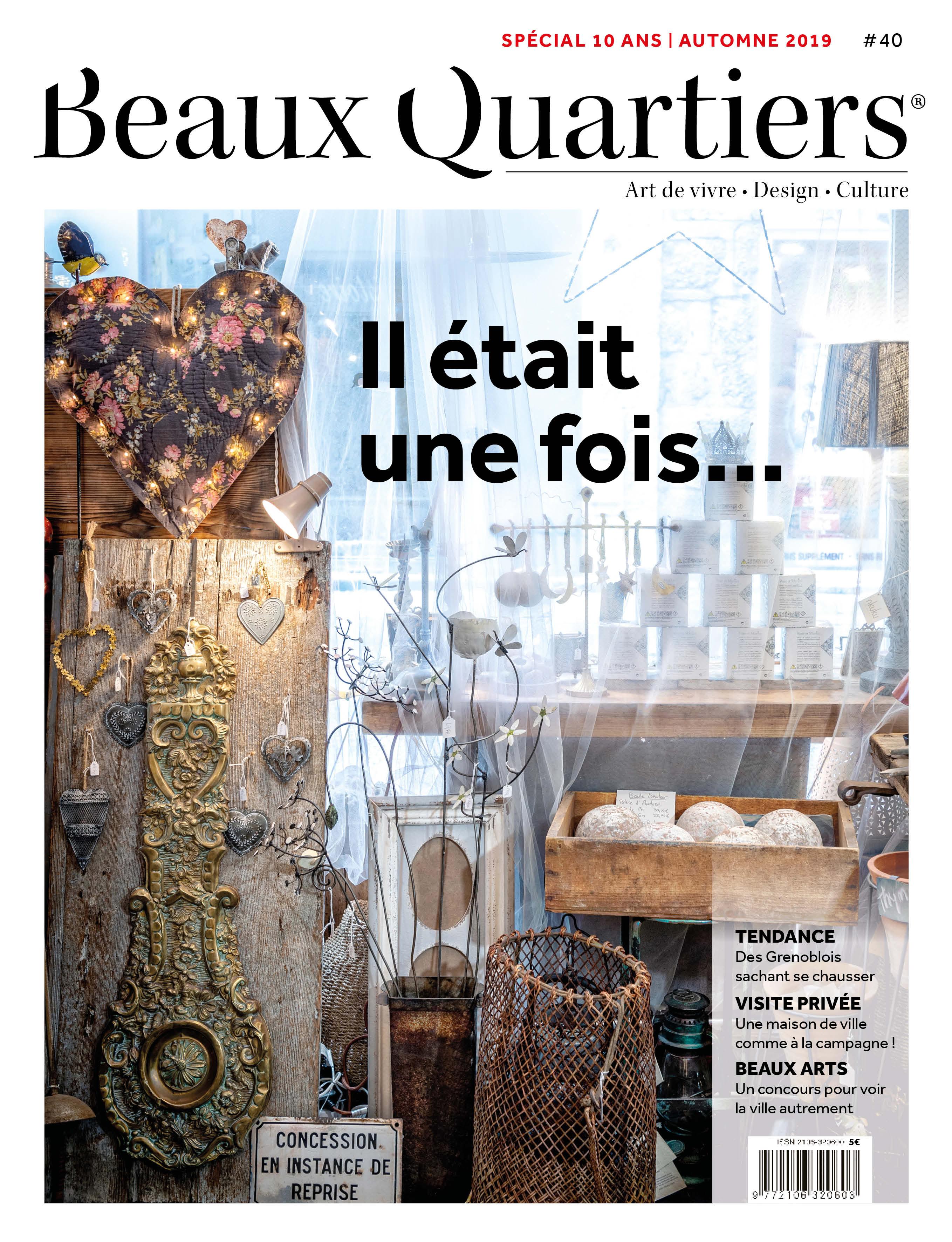 Beaux Quartiers 40 – Automne 2019